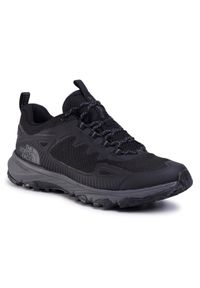 Czarne buty trekkingowe The North Face trekkingowe