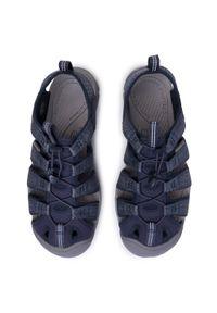 Niebieskie sandały trekkingowe keen na lato