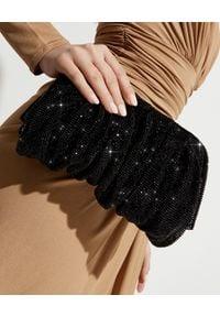 BENEDETTA BRUZZICHES - Torebka z czarnych kryształów Venus Large. Kolor: czarny. Rodzaj torebki: do ręki