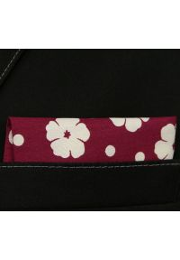 Czerwona poszetka Alties w kwiaty