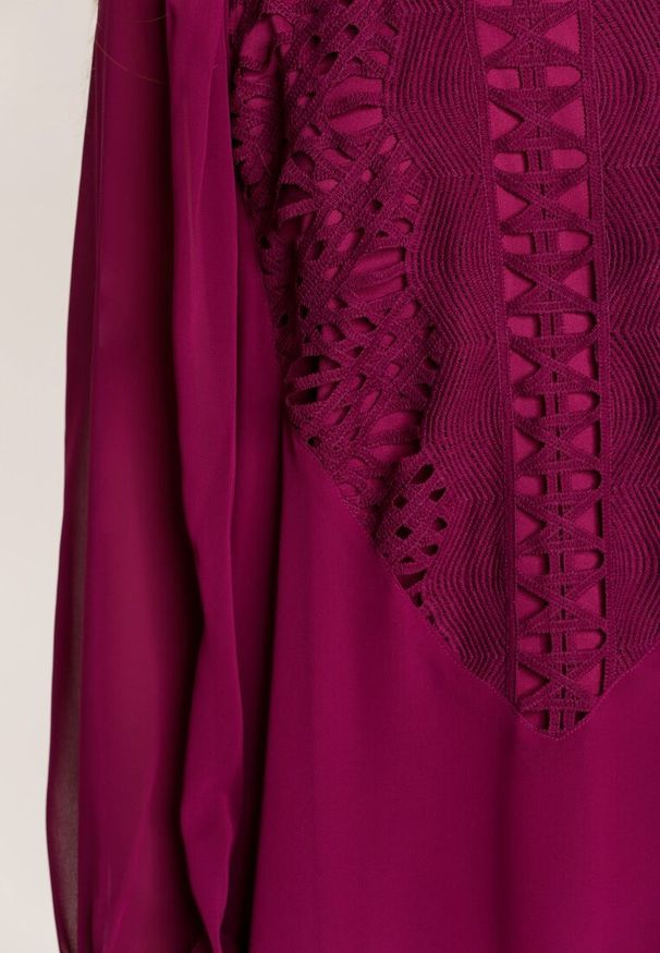 Fioletowa sukienka mini Renee