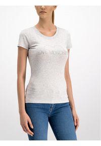 Love Moschino - LOVE MOSCHINO T-Shirt W4B194TE2065 Regular Fit. Kolor: szary