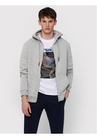 Only & Sons - ONLY & SONS Bluza Ceres 22018684 Szary Regular Fit. Kolor: szary