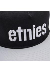 Etnies - Czapka z daszkiem ETNIES - Corp Snapback 4140001357 Black/Grey 570. Kolor: czarny. Materiał: materiał, bawełna, poliester