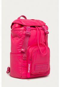 Desigual - Plecak. Kolor: różowy