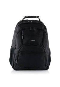 Czarny plecak na laptopa LOGIC elegancki