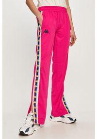 Spodnie dresowe Kappa z aplikacjami