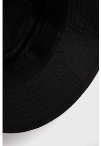 Czarny kapelusz Kappa z aplikacjami