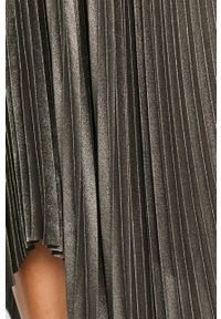 AllSaints - Spódnica. Kolor: szary