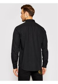 Versace Jeans Couture Koszula Pocket Emb Logo 71UP200 Czarny Regular Fit. Kolor: czarny