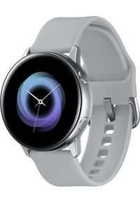 SAMSUNG - Smartwatch Samsung Galaxy Watch Active Szary (SM-R500NZSAXEO). Rodzaj zegarka: smartwatch. Kolor: szary