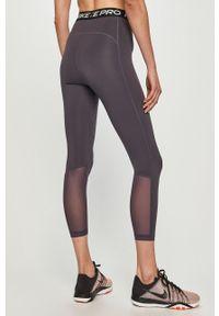 Fioletowe legginsy Nike gładkie