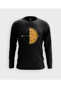 MegaKoszulki - Koszulka męska z dł. rękawem Arrow pizza. Materiał: bawełna