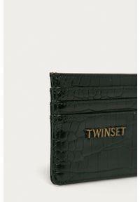 TwinSet - Twinset - Portfel. Kolor: czarny