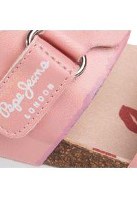 Różowe sandały Pepe Jeans