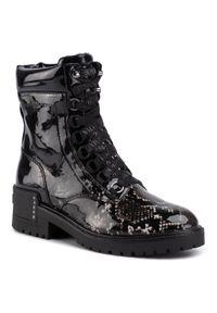 Czarne buty trekkingowe SuperTrash z cholewką