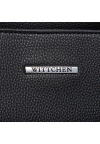 Wittchen - Torebka WITTCHEN - 29-4Y-002-1 Czarny. Kolor: czarny. Materiał: skórzane. Styl: klasyczny