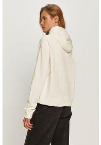 Miss Sixty - Bluza bawełniana. Typ kołnierza: kaptur. Kolor: biały. Materiał: bawełna. Długość rękawa: długi rękaw. Długość: długie. Wzór: aplikacja