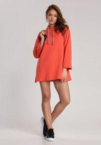 Pomarańczowa tunika Renee