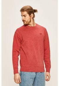 Levi's® - Levi's - Bluza. Okazja: na spotkanie biznesowe. Kolor: czerwony. Materiał: dzianina. Styl: biznesowy