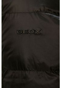 Czarna kurtka Geox z kapturem #6
