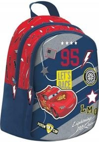 Beniamin Plecak szkolny Cars granatowy. Kolor: niebieski