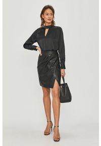 Czarna bluzka DKNY długa, casualowa, na co dzień