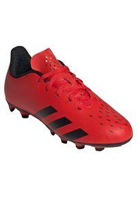 Adidas - Buty piłkarskie korki dla dzieci adidas Predator Freak.4 FG FY6322. Zapięcie: sznurówki. Materiał: syntetyk. Szerokość cholewki: normalna. Wzór: gładki. Sport: piłka nożna