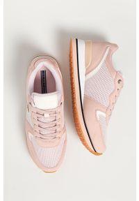 U.S. Polo Assn. - Buty. Nosek buta: okrągły. Zapięcie: sznurówki. Kolor: różowy. Materiał: skóra ekologiczna, syntetyk, materiał, guma. Szerokość cholewki: normalna. Obcas: na obcasie. Wysokość obcasa: niski #4