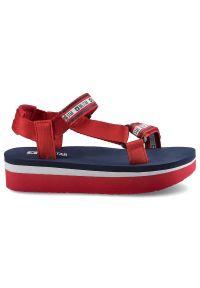 Czerwone sandały Big-Star