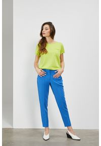 Niebieskie spodnie MOODO