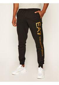 Czarne spodnie dresowe EA7 Emporio Armani