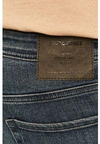Jack & Jones - Jeansy Glenn. Kolor: niebieski