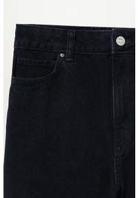 Szare jeansy mango casualowe, z podwyższonym stanem, na co dzień #7
