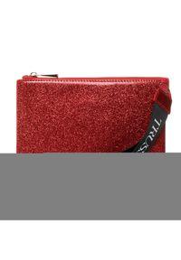 Czerwona kopertówka Trussardi Jeans