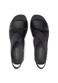 Czarne sandały Camper