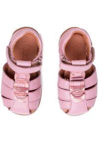 Różowe sandały Froddo z aplikacjami