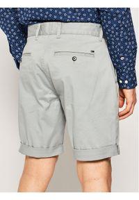 Tommy Jeans Szorty materiałowe Tjm Essential Chino DM0DM05444 Szary Regular Fit. Kolor: szary. Materiał: materiał