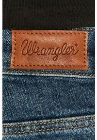 Wrangler - Jeansy. Kolor: niebieski