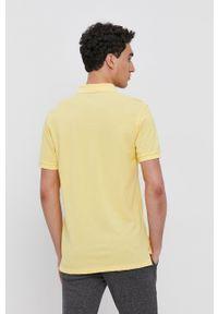 GANT - Gant - T-shirt/polo 2201. Typ kołnierza: polo. Kolor: żółty. Długość: krótkie