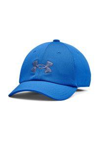 Niebieska czapka z daszkiem Under Armour z aplikacjami