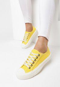 Żółte trampki Born2be #6