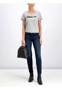 Marc O'Polo T-Shirt 907 2072 51189 Szary Regular Fit. Typ kołnierza: polo. Kolor: szary