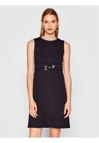 Rinascimento Sukienka codzienna CFC0102458003 Czarny Regular Fit. Okazja: na co dzień. Kolor: czarny. Typ sukienki: proste. Styl: casual