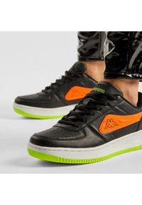 Kappa - Sneakersy KAPPA - Bash Pc 242783PC Black/Coral 1129. Okazja: na co dzień, na spacer. Kolor: czarny. Materiał: skóra ekologiczna, materiał. Szerokość cholewki: normalna. Sezon: lato. Styl: casual