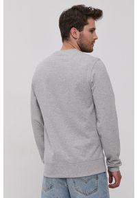 New Balance - Bluza bawełniana. Okazja: na co dzień. Kolor: szary. Materiał: bawełna. Styl: casual