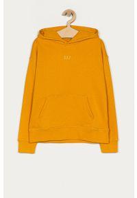 Pomarańczowa bluza GAP na co dzień, casualowa