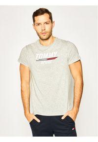 Tommy Sport T-Shirt Printed Tee S20S200442 Szary Regular Fit. Kolor: szary. Styl: sportowy