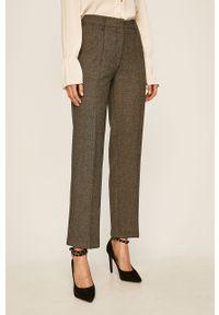 Wielokolorowe spodnie materiałowe Pepe Jeans z podwyższonym stanem