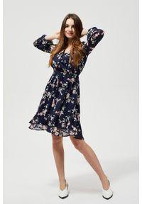 Sukienka MOODO w kwiaty